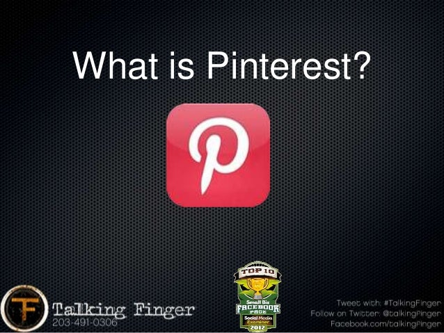 What is Pinterest?