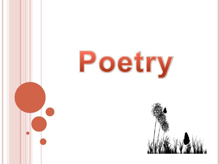 What is poetry??