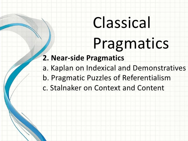 Infographic definition of pragmatic adjective
