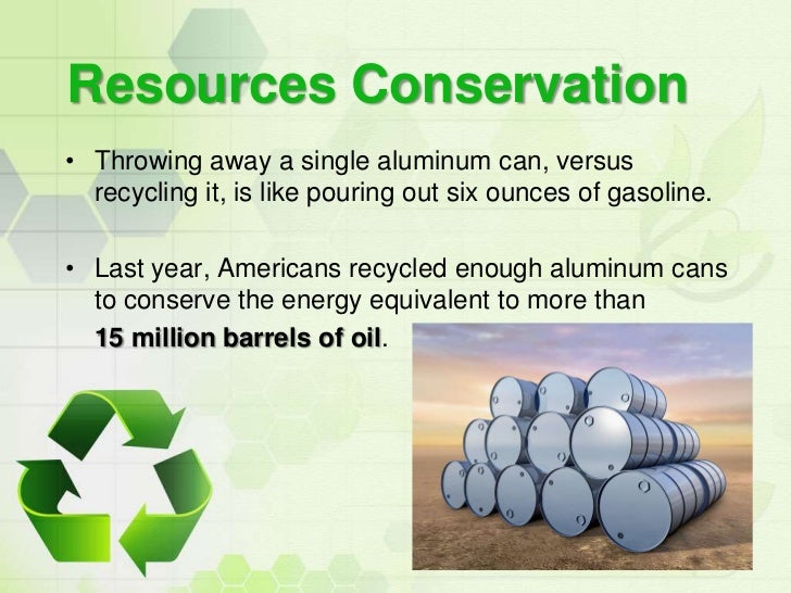 Importance of recycling essay
