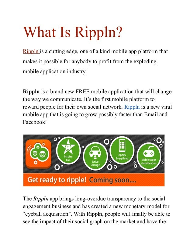 What Is Rippln?