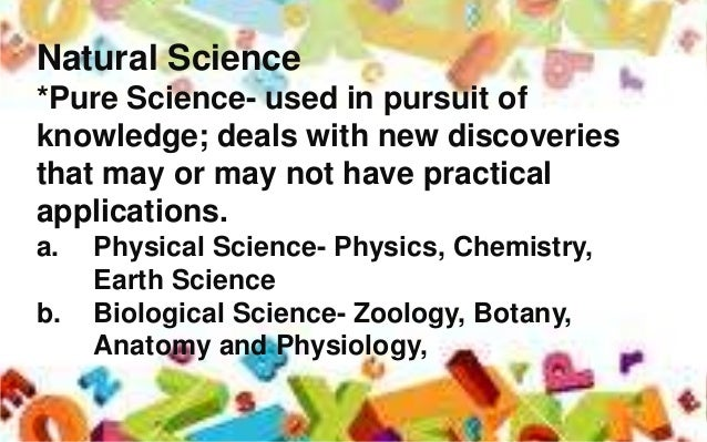What is science? :-)?
