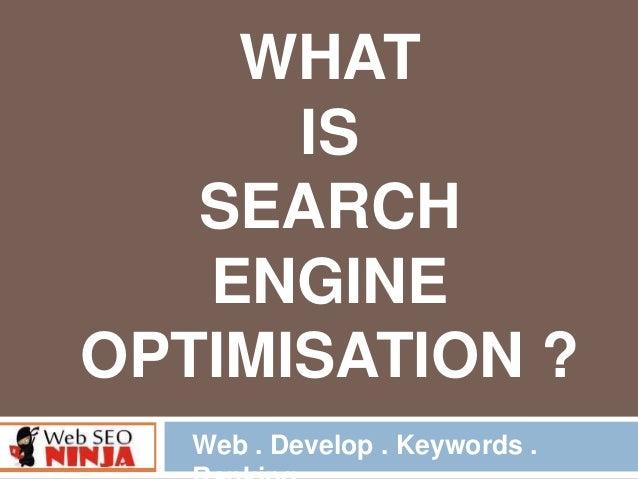 What Is Seo - Learn Seo Online | Webseoninja.in