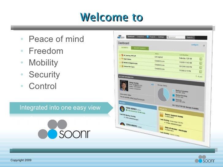 Welcome to <ul><li>Peace of mind </li></ul><ul><li>Freedom </li></ul><ul><li>Mobility </li></ul><ul><li>Security </li></ul...