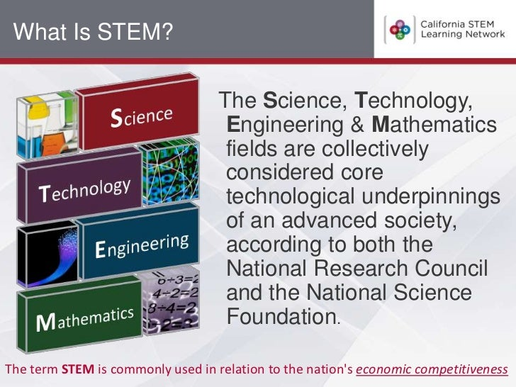 What Is STEM?                                   The Science, Technology,                                    Engineering & ...