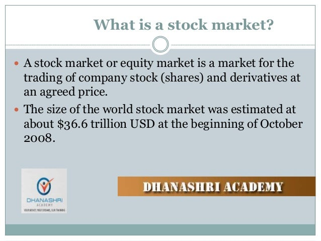 Stock market terms options