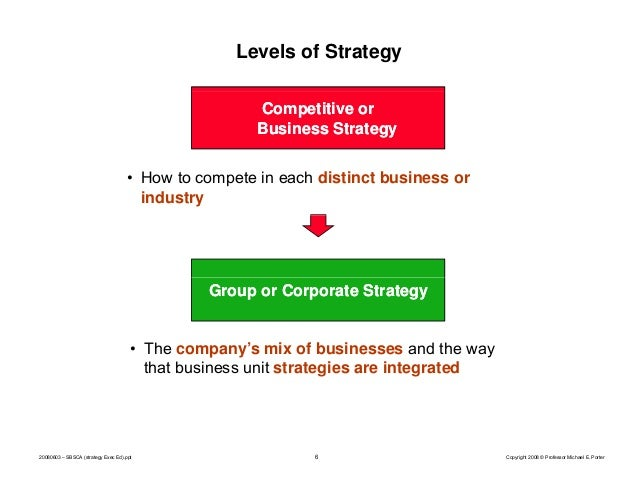 "michael porter what is strategy ""competitive advantage"" is the title of a book by michael porter (see article) which became a bible of business thinkers in the ""competitive strategy."