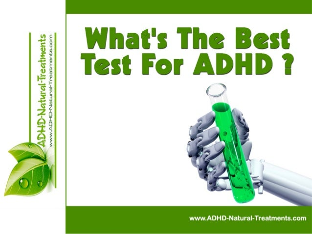 What Is The Best Test For ADHD?