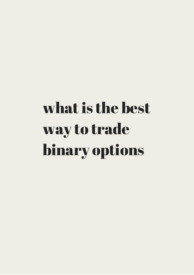 Best place to trade options