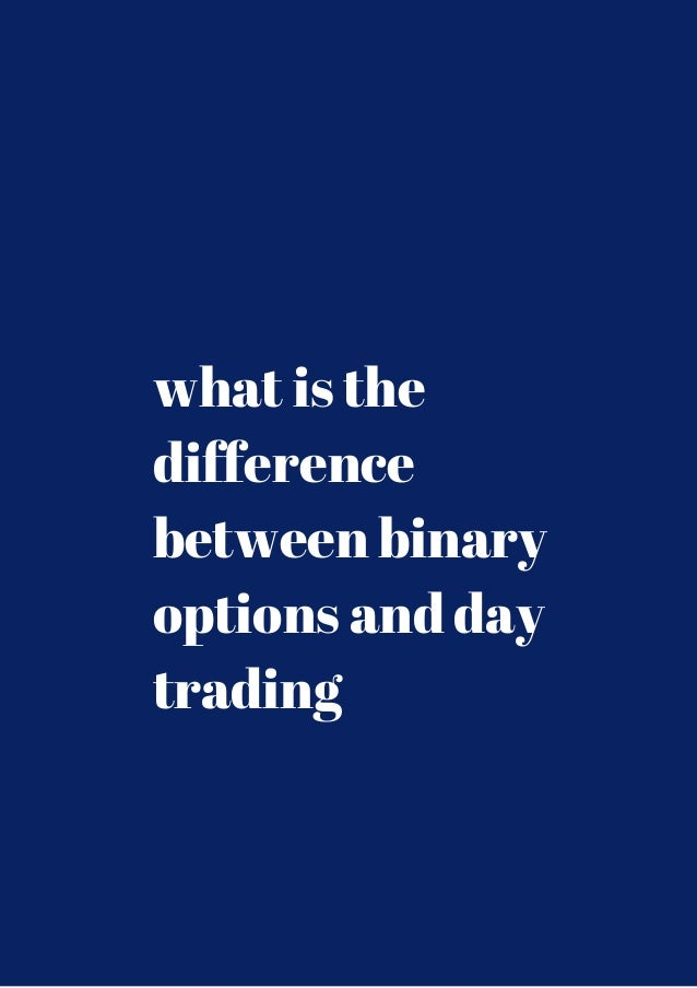 Difference between binary and digital options