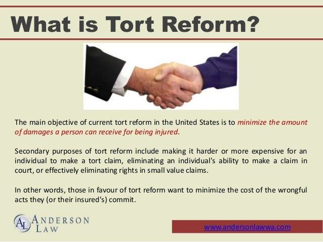 tort reform Medical liability & tort reform the medical malpractice litigation improvements act an ohio state medical association (osma) backed tort reform bill was introduced in the ohio house in may 2016 as hb 559.
