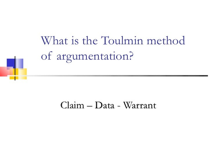 What is toulmin