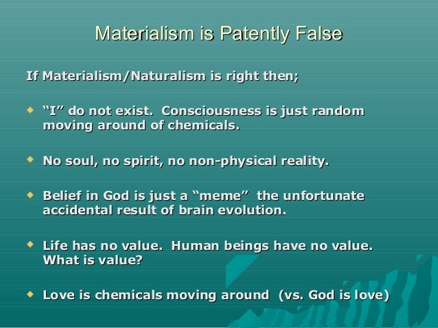 Persuasive essay on Materialism and why we shouldnt be materialistic?