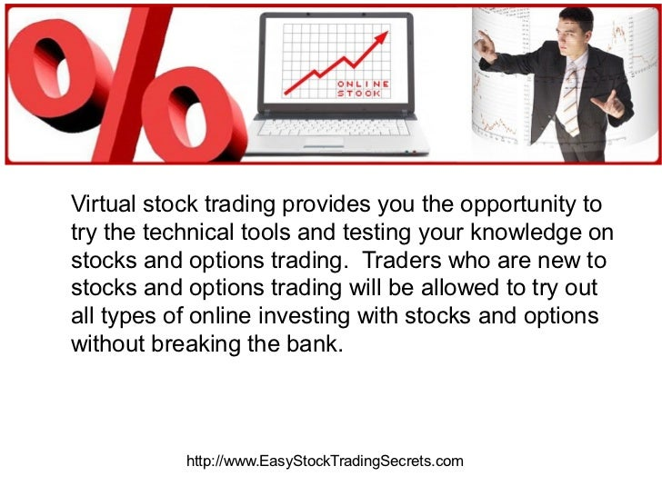 Virtual trading stock options