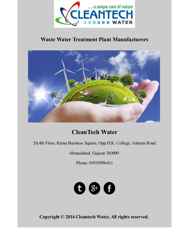 What is water treatment?