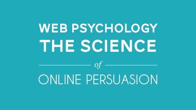What is web psychology?