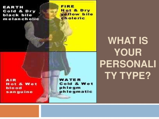 What is your personality type