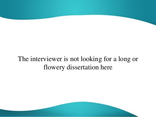 what is your philosophy towards work interview answer