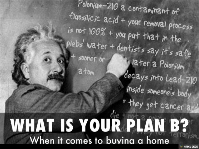 What is your Real Estate Plan B