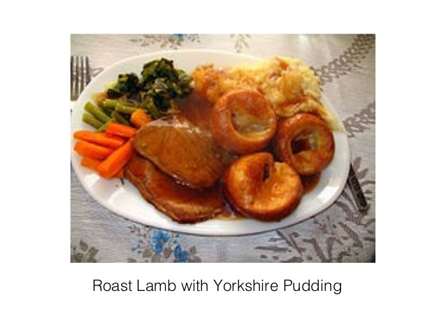 Roast Lamb with Yorkshire Pudding