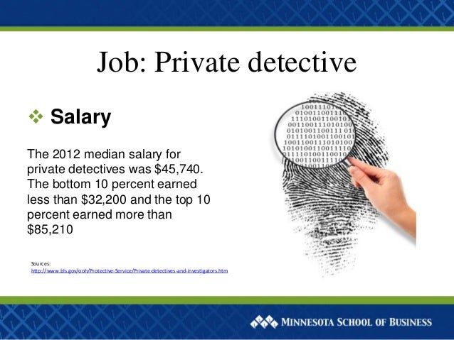 What jobs do detectives have to do?