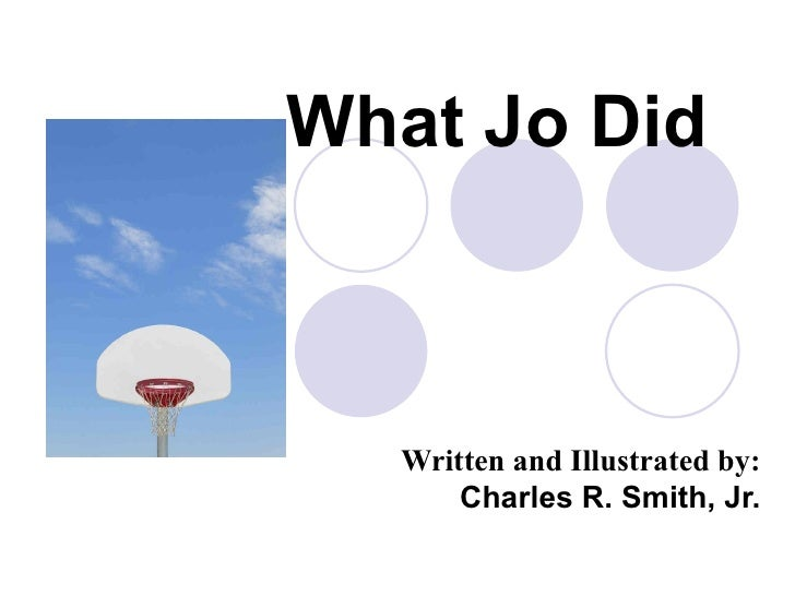 What Jo Did