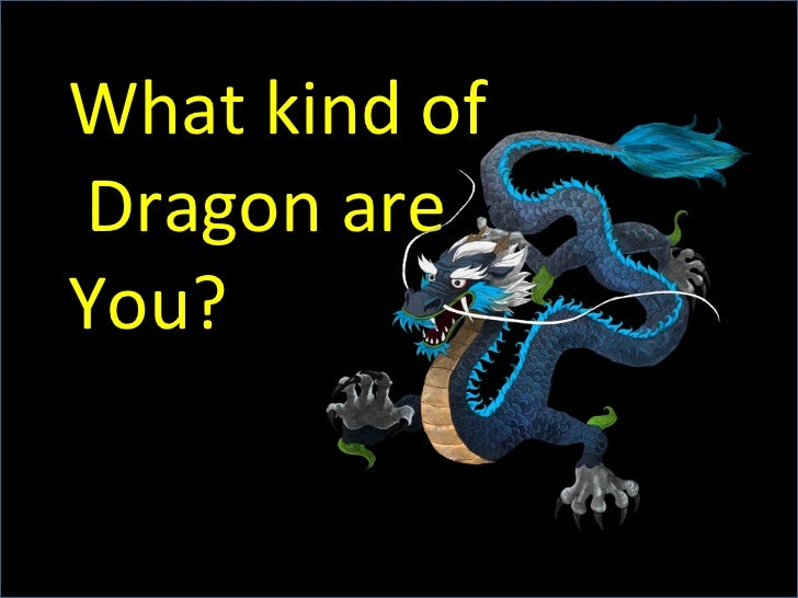 What Kind of Dragon are You