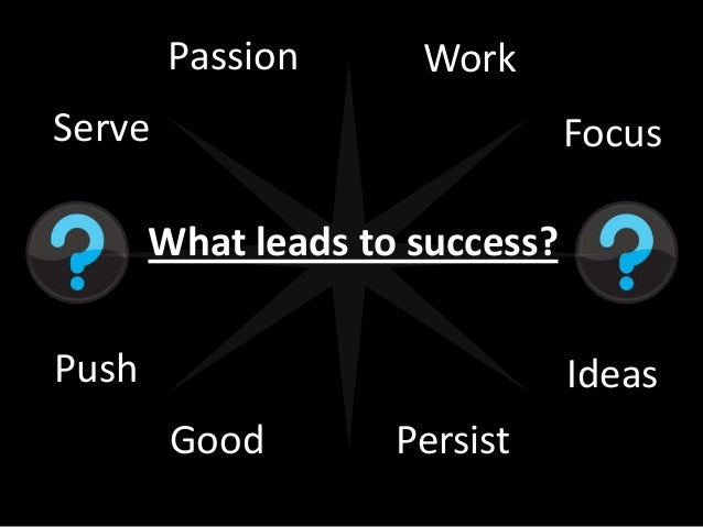 what leads to success