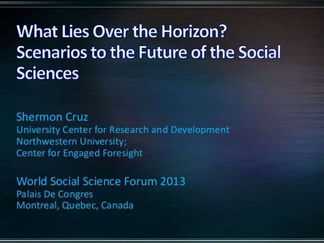 What lies over the horizon? Scenarios to the Future of Social Sciences in the Era of Digitization and Social Transformation