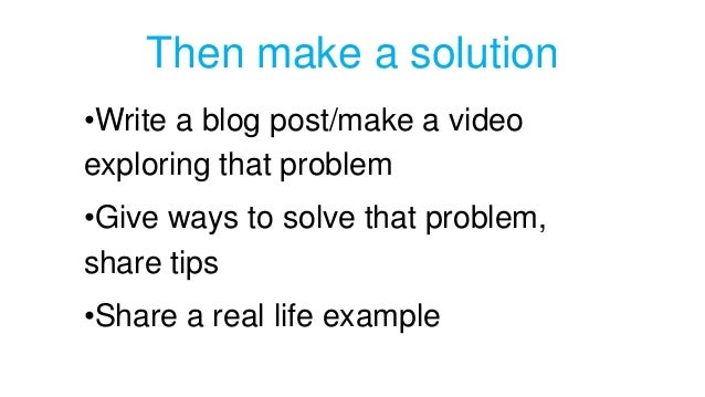 Making a good blog