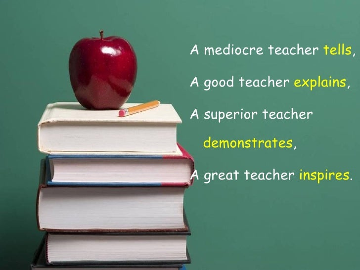 what make a good teacher There are many things which make a teacher great and they all can`t be definedhowever i`ve always considered several of them essentialin my opinion a good teacher is someonewho first of all creates interest in studying,doesn`t underestimate the children,has equal expectations of siccess from .