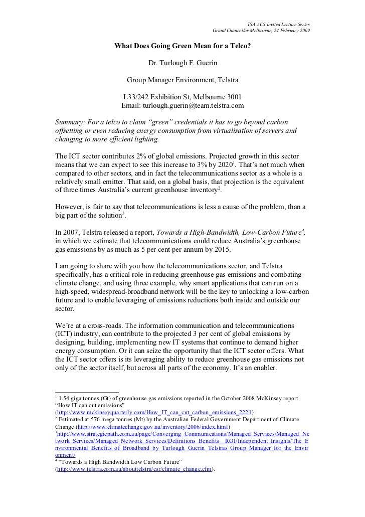 TSA ACS Invited Lecture Series                                                            Grand Chancellor Melbourne, 24 F...