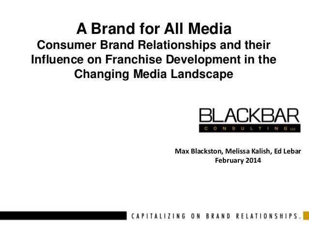 A Brand for All Media Consumer Brand Relationships and their Influence on Franchise Development in the Changing Media Land...