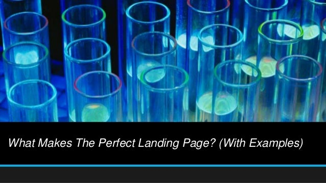 What Makes The Perfect Landing Page? (With Examples)
