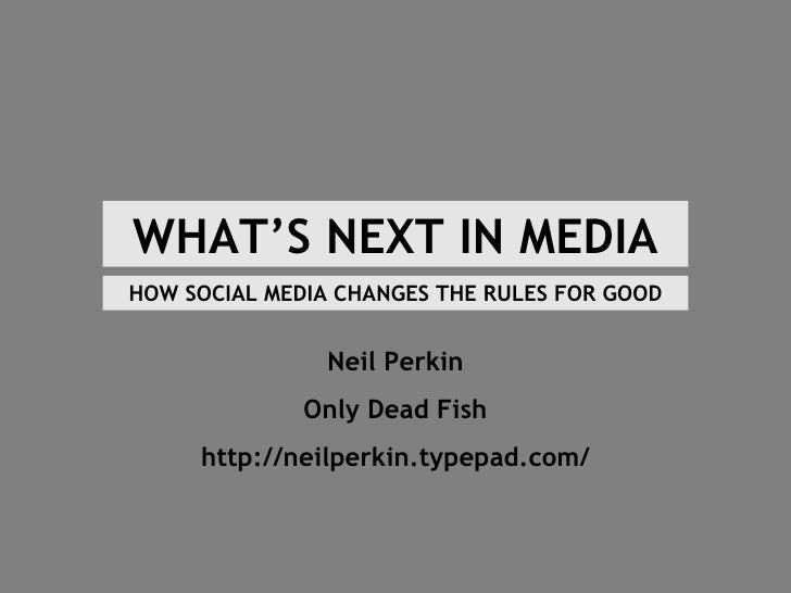 What Next In Social Media
