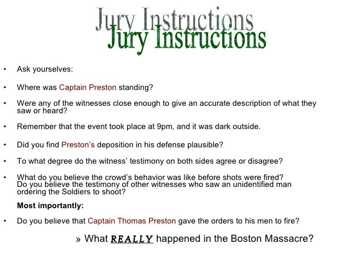 what really happened in the boston massacre essay
