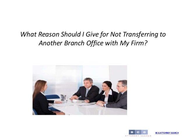 essay on reasons for transferring