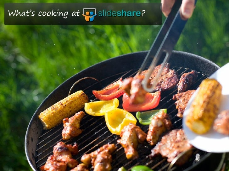 What's cooking at Slideshare ??