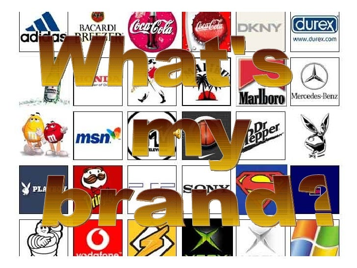 What's my brand?