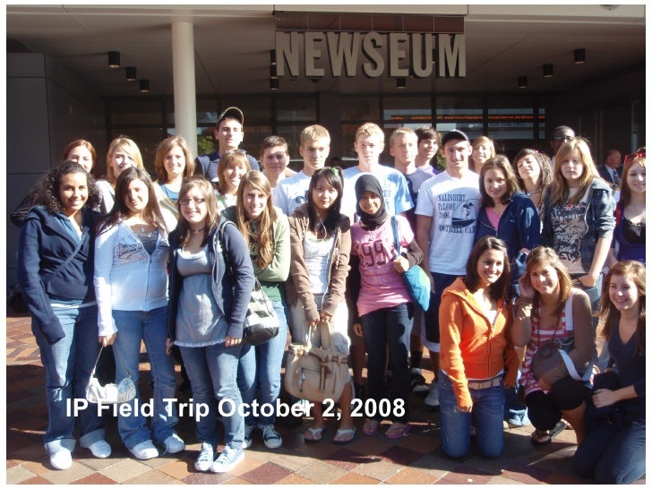 What's  News? Orientation And Interviews At the Newseum