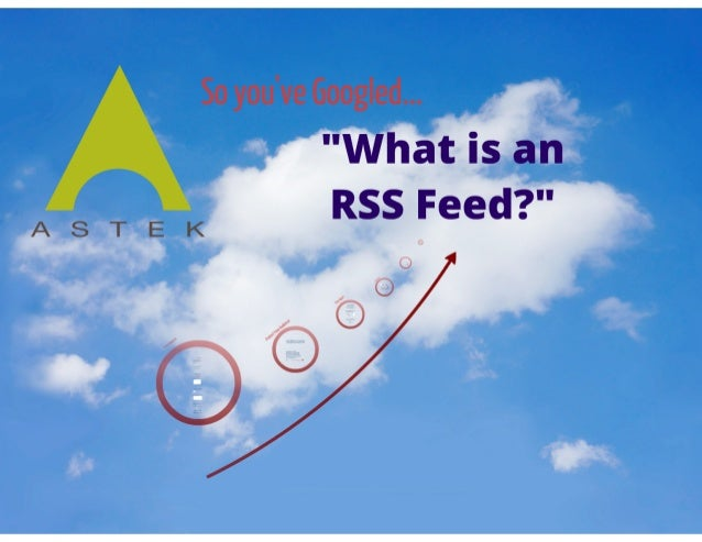 What's an RSS Feed? - A How-To for Blogging