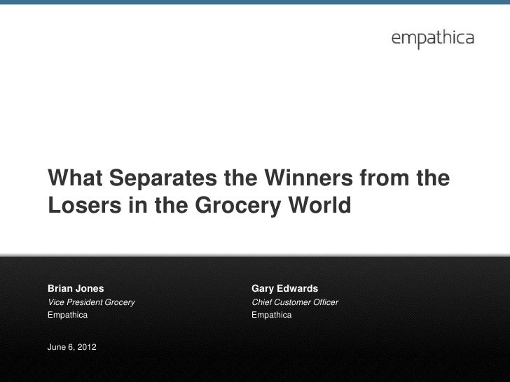 What separates the winners from the losers 06 04 2012 final
