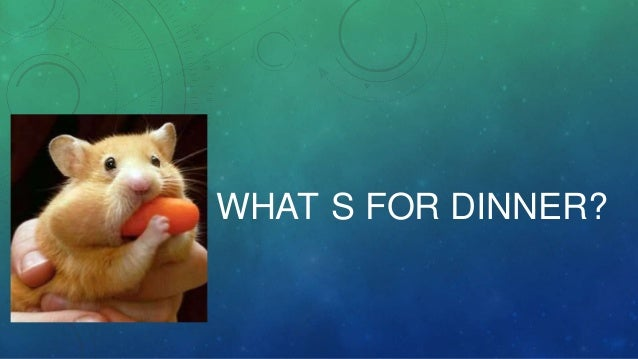 What´s for dinner