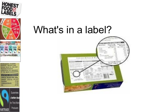 Whats in a label?