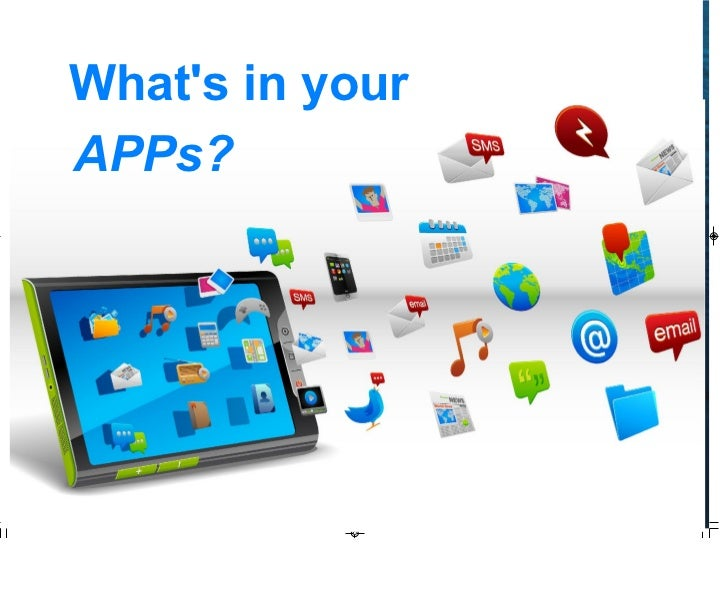 Whats in your APPs?