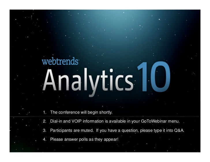 Analytics10 - What's New in 10.5