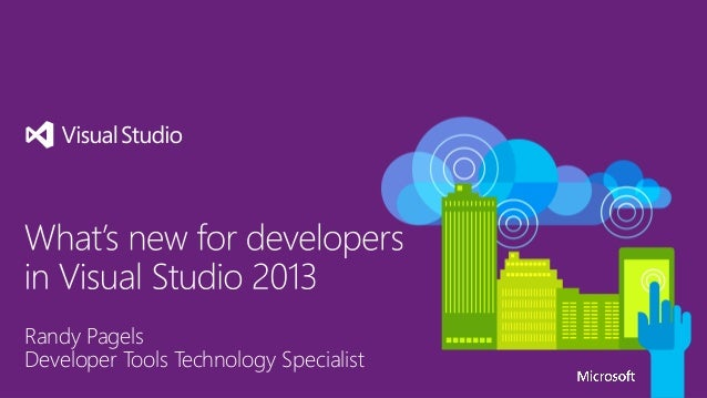 Whats new for developers in Visual Studio 2013
