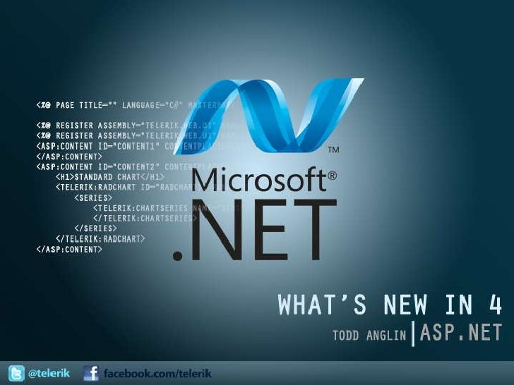 What's New in ASP.NET 4