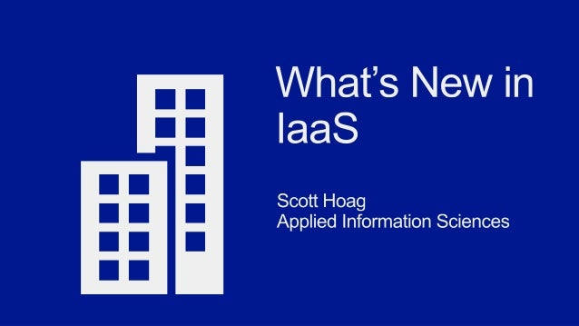 What's New in Windows Azure IaaS