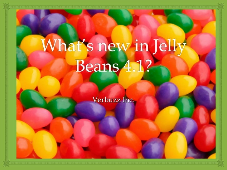 New features in Android Jelly Bean 4.1